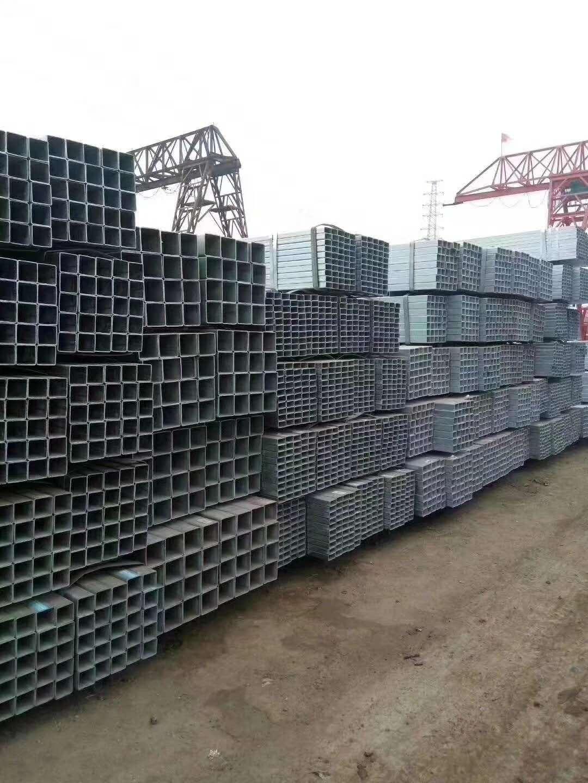 天津方管方矩管定尺方管生产厂家镀锌方矩管厚口径方矩管友发方矩