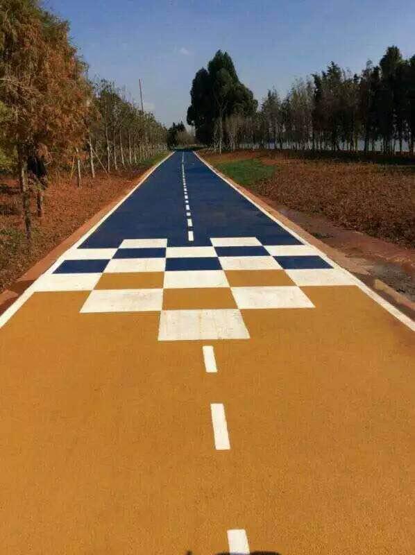 城市绿道-物超所值的彩色防滑路面推荐