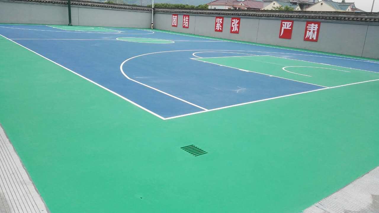 绍兴篮球场-硅PU篮球场-室内篮球场施工