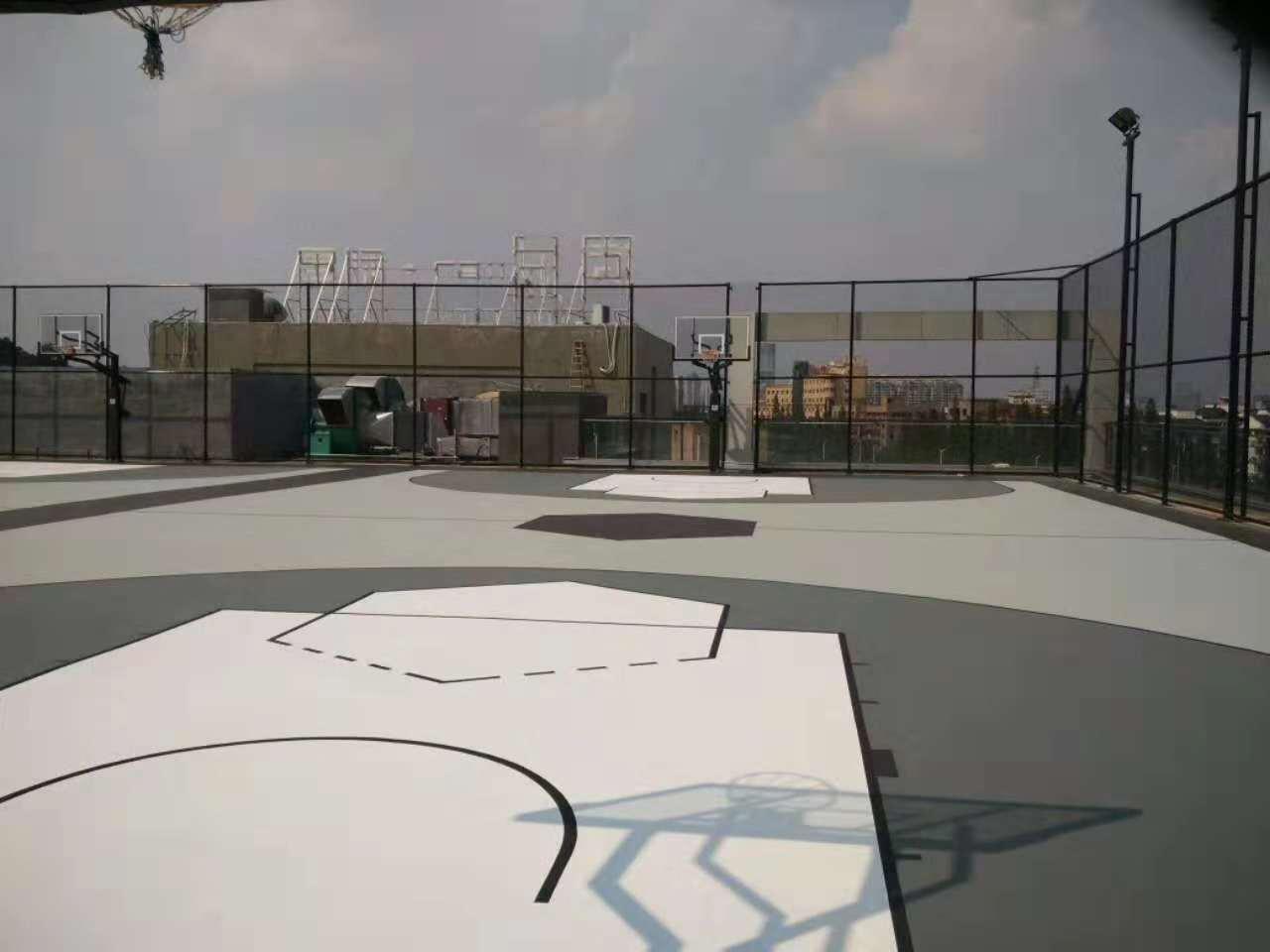 宁波室内篮球场-塑料篮球场-篮球运动场地
