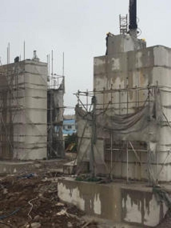 钢筋混凝土结构建筑物切割拆除施工