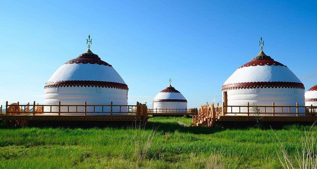 呼伦贝尔蒙古包厂-海拉尔蒙古包厂家--呼伦贝尔天祥彩钢钢结构