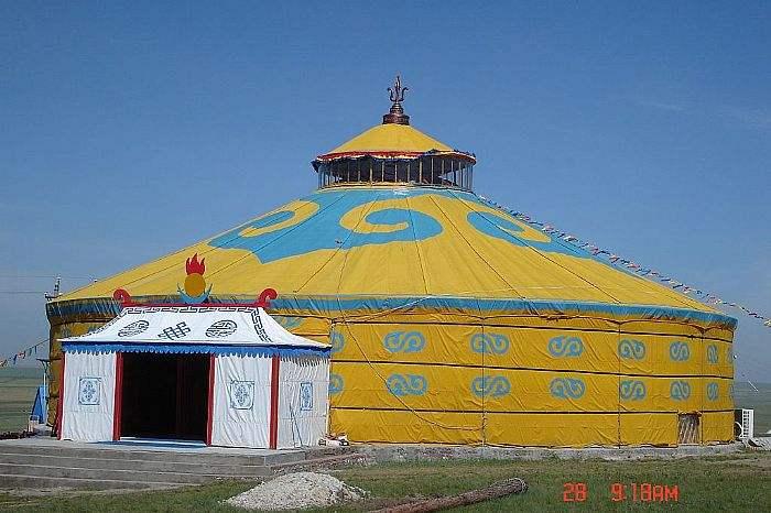 蒙古包-內蒙古蒙古包廠廠房