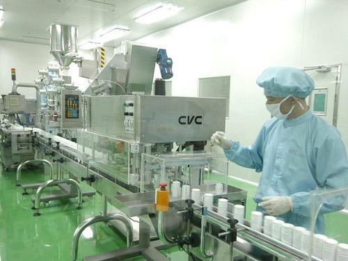 廣州越秀化妝品廠凈化工程 化妝車間無塵地坪工程