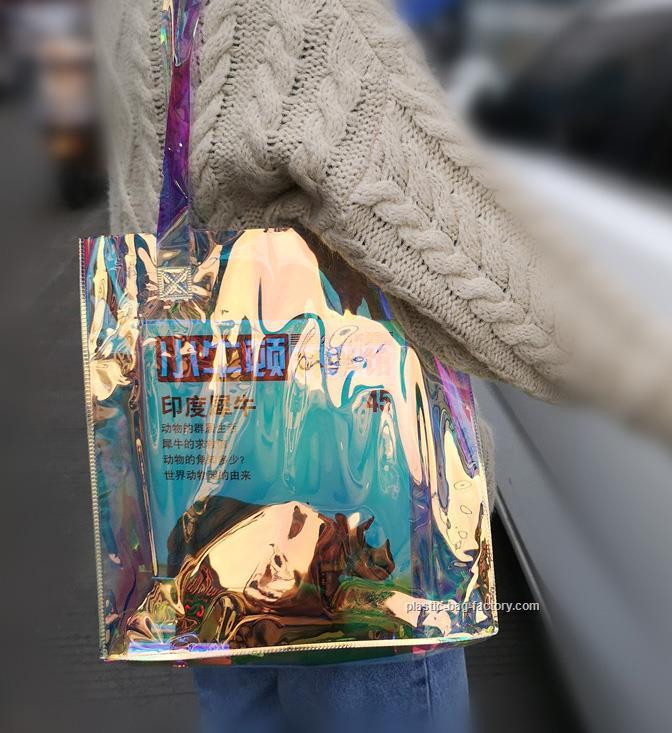 幻彩PVC手提袋厂家批发-价位合理的幻彩PVC手提袋推荐