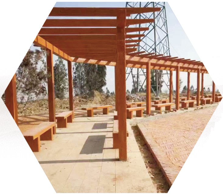 漳州水泥仿竹护栏|仿木廊架的价格范围如何