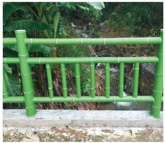 水泥仿竹护栏|实惠的仿木廊架尽在泊晖园林