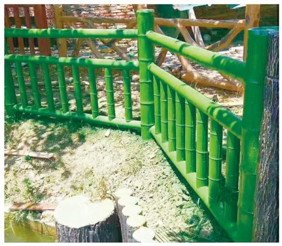 水泥仿木廊架|高质量的仿木廊架尽在泊晖园林