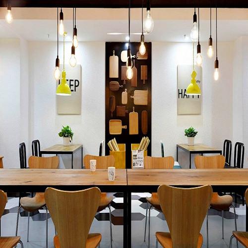 今日头条创作工作室装修设计,富有科技感的郑州工业风办公室设计