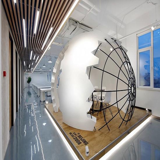 KEEP总部办公空间装修设计 郑州互联网办公楼装修设计哪家好