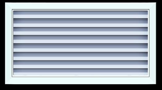 自垂百叶风口,铝合金风口,双层百叶风口