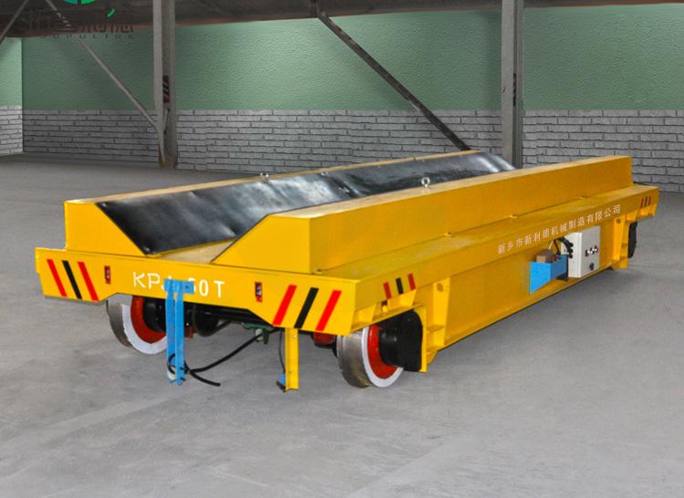 水泥管模具设备搬运用V型架电动平板车 安全高效耐磨