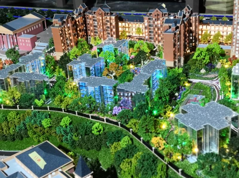 湖北生态建筑模型|专业的生态模型设计推荐