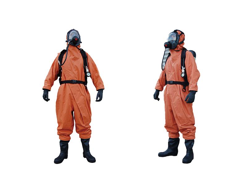 轻型防化服|半封闭轻型防化服【德瑞尔】专业防化服厂家