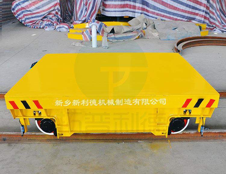 防爆式轨道电动平车设计方案 接电缆过跨搬运车图纸