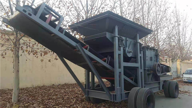 移动石子机批发_凯翔机械专业供应移动破碎站