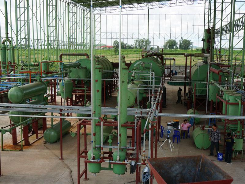 小型废机油炼油设备代理加盟_供应河南厂家直销的小型废机油炼油设备
