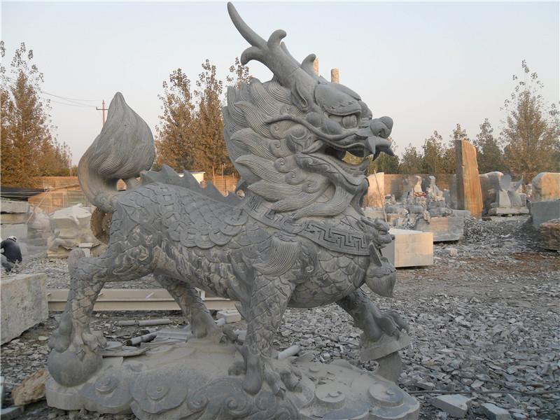 榆林石雕麒麟价格与行市_山东高质量的石雕麒麟供应出售