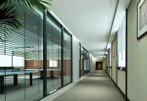石家庄办公玻璃隔断|要买品质办公玻璃隔断就找壹森装饰