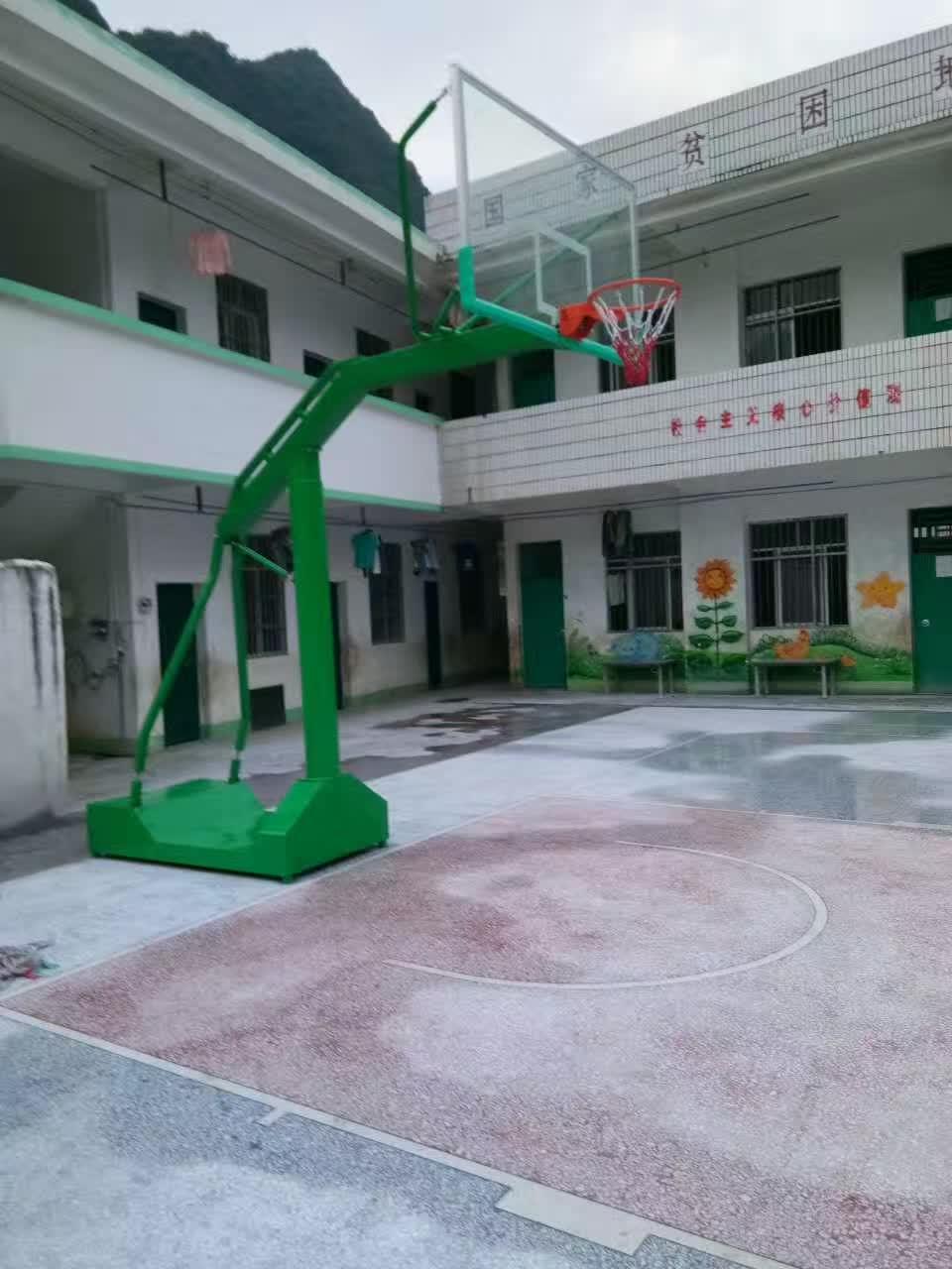 广西篮球架厂家批发,体育器材厂家