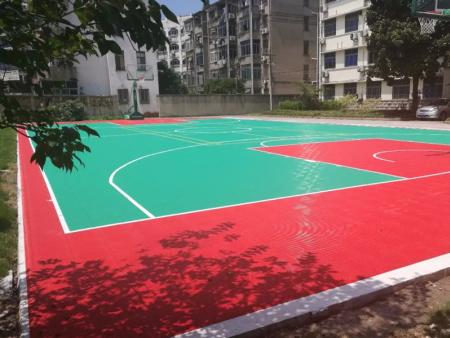 拼装地板-力强体育品牌拼装地板供应商