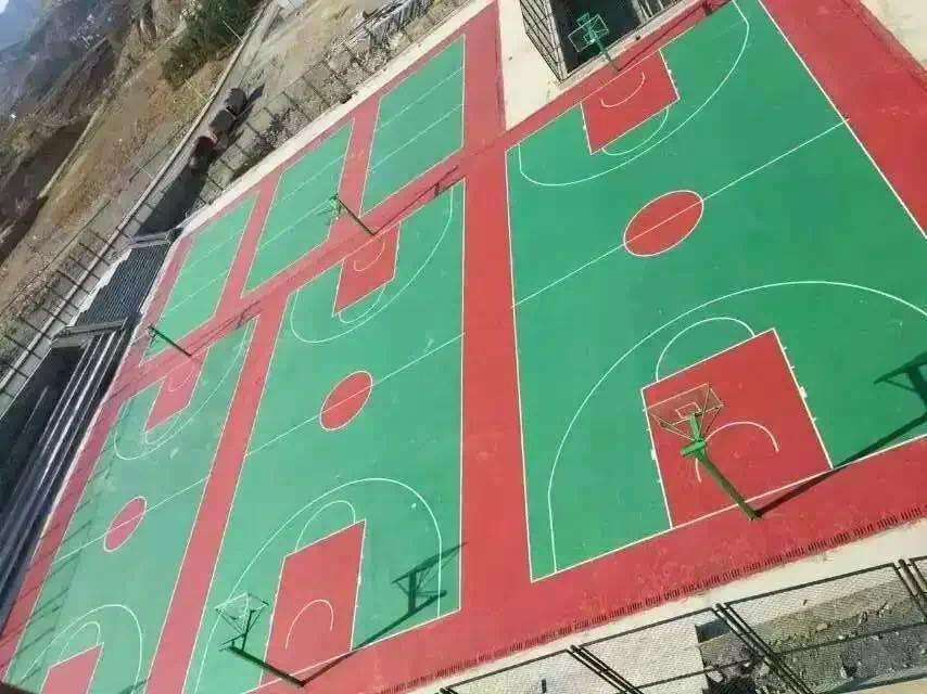 钦州丙烯酸篮球场-南宁飞跃体育供应有品质的广西丙烯酸篮球场