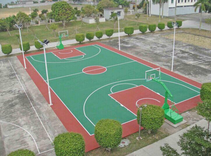 防城港丙烯酸籃球場施工|性價比高的廣西丙烯酸籃球場盡在南寧飛躍體育