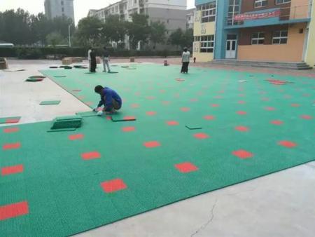 南宁悬浮拼装地板批发商,广西运动地板供应厂家