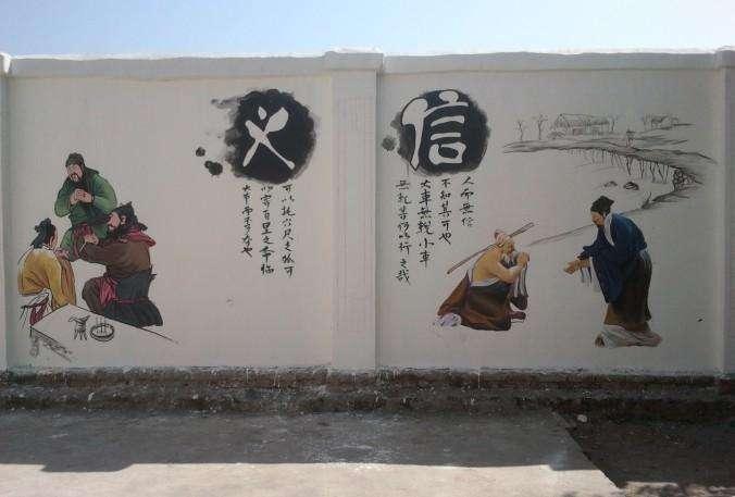 2019新农村建设文化墙案例