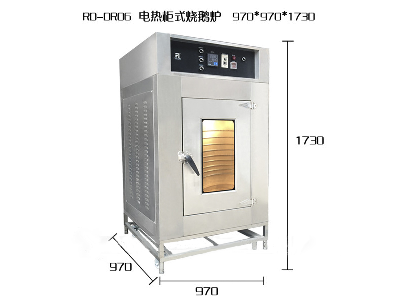 廣州智能柜式燒烤爐/不銹鋼燒雞爐推薦廠家/榮興廚具