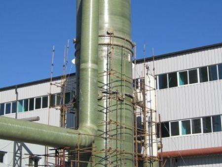 河北钢厂玻璃钢脱硫塔
