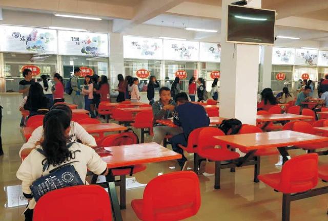 推荐学校饭堂承包_可信赖的黔南民族师范学院食堂服务推荐
