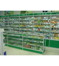 呼市药店货架