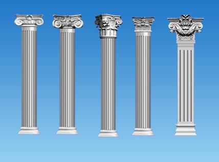 北海羅馬柱廠家-廣西優惠的廣西GRC羅馬柱批銷