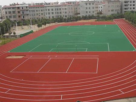 惠州塑膠跑道,塑膠籃球場-惠州市力強體育設施有限公司