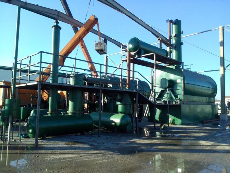 专业废机油炼油设备生产价格实惠-大量供应高质量的专业废机油炼油设备