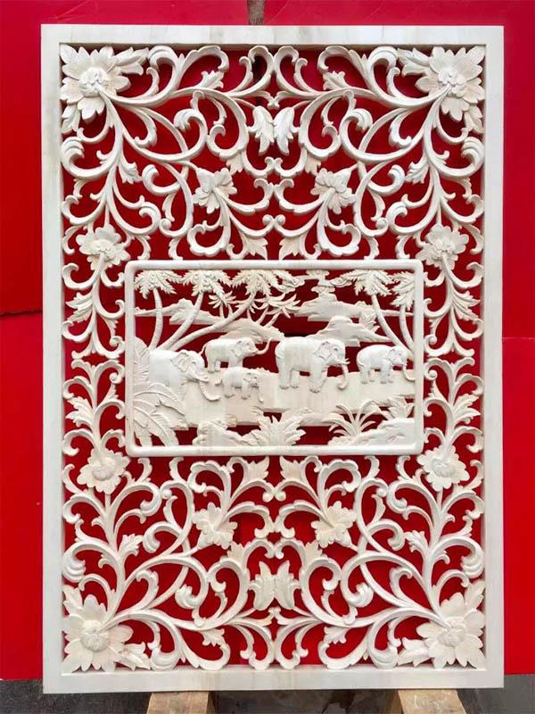 广州木雕屏风花格供应/木雕屏风隔断/广州古建筑/新东阳木雕