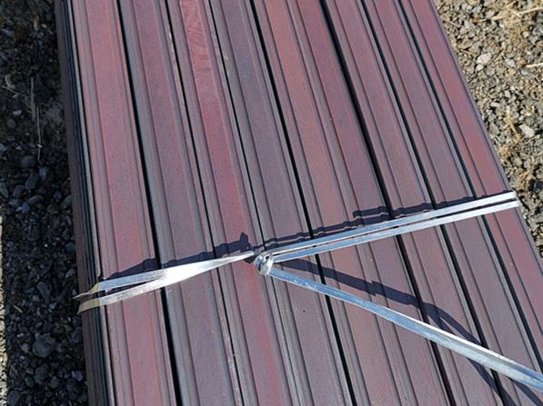 双槽夹板专用扁钢