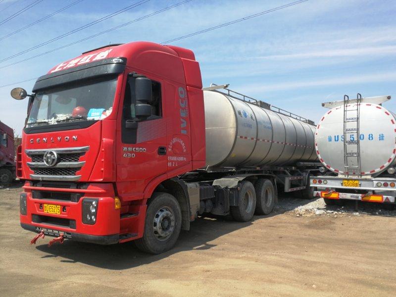 食用油罐车运输青岛宁选物流为您服务运输安全高效