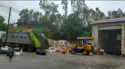 惠州垃圾清运|惠东垃圾清运公司,绿点环境项目多车辆齐