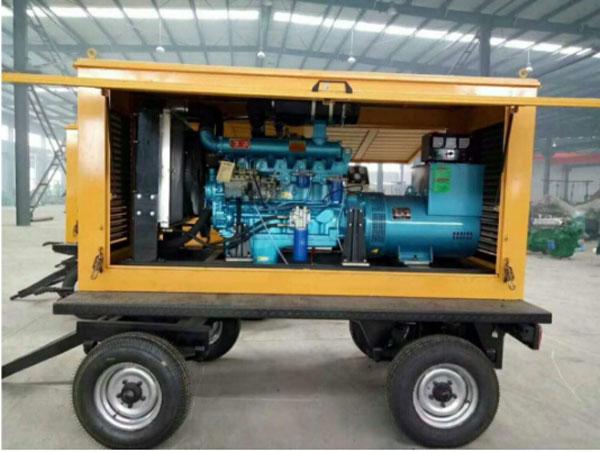 拖车发电机组批发商-拖车发电机组就选皓伟德电力