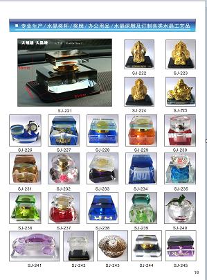本地的水晶制品-大连鑫瓯影智能卡工艺设计厂家