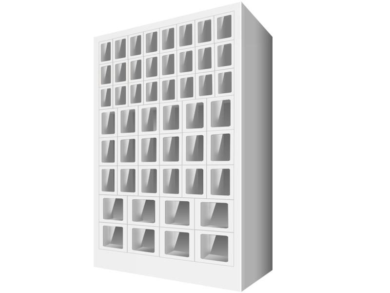 扫码型格子售货机多少钱_质量好的扫码型格子售货机出售