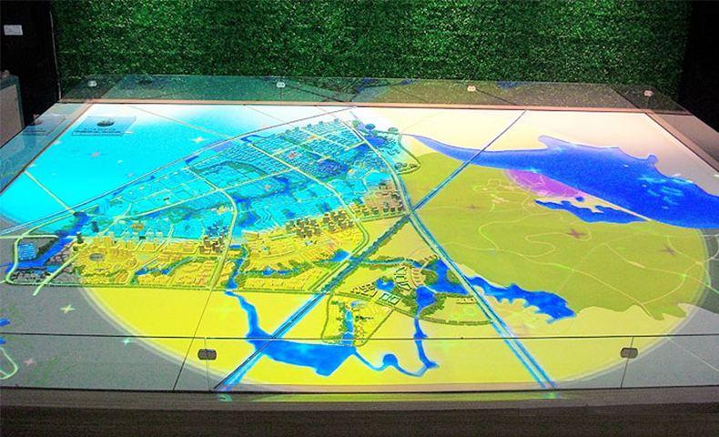 新疆地形沙盘专业制作公司-新疆电子地形沙盘