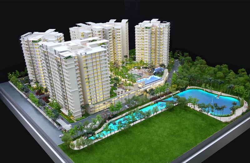新疆房地產模型沙盤-想要製作新疆房地產沙盤找雲頂勇創科技工作室