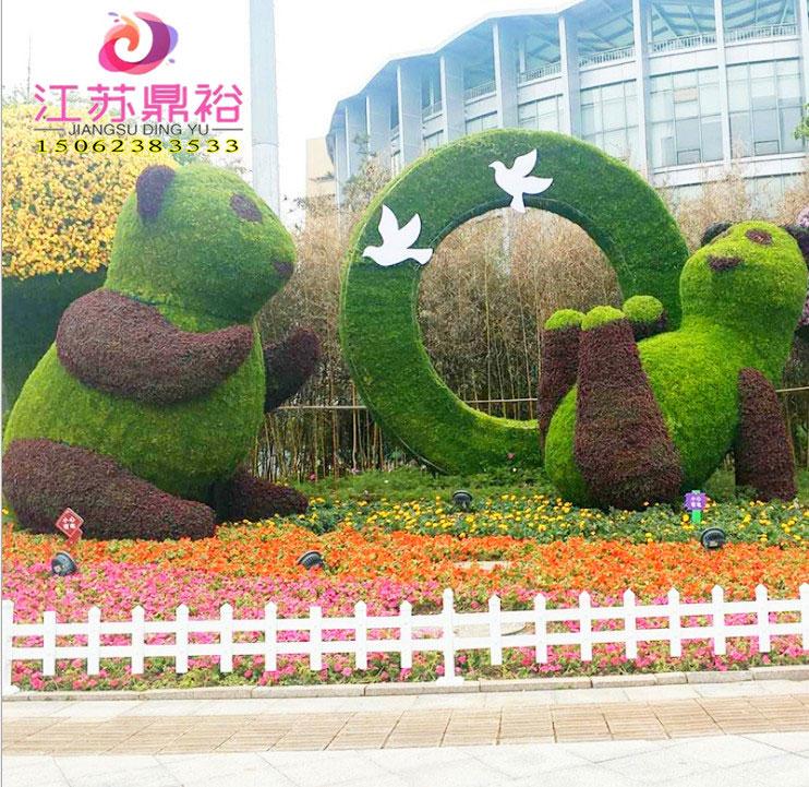 广场绿雕公司|江苏专业的广场绿雕制作商