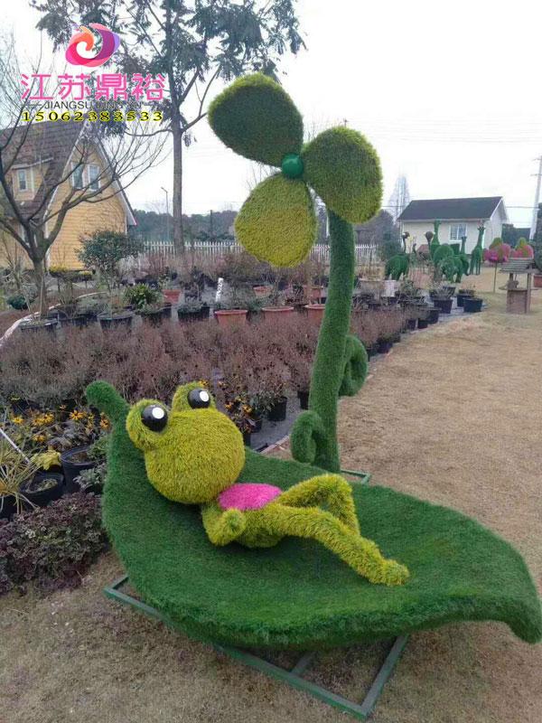动物绿雕动态-动物绿雕优选江苏鼎裕