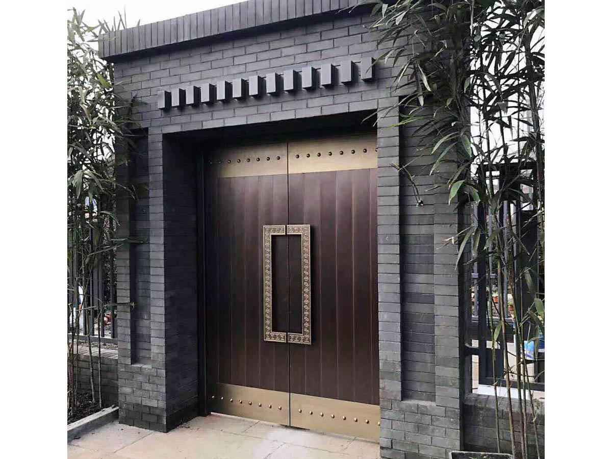 別墅銅門價格_許昌口碑好的別墅銅門出售