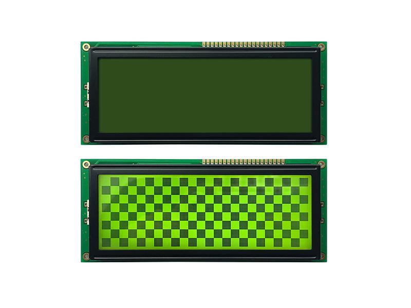 黄绿屏192x64并口液晶模块
