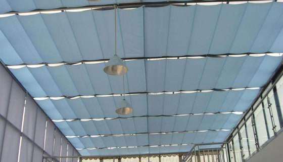 果洛电动遮阳厂家|耐用的电动天棚遮阳帘要到哪买